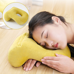 Poduszka z pianki memory biurko poduszka nap z Hollow projekt idealny do twarzy w dół Sleeper podparcie pleców zdejmowane zmywalna osłona 20