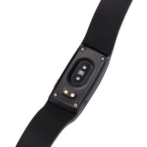 Image 3 - PK ID107 Heart Rate Smart Bracelet Watch Heart Rate Monitor Pedometer Smart Band Wireless Fitness Tracker Wristband