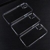 Funda protectora transparente para lente de cámara, accesorios para Iphone 12 Pro Max 12Mini 11, cristal delgado antiamarillo, 5 uds.