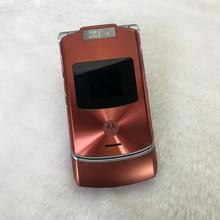 Original Motorola RAZR V3xx 1.3MP 2G 3G ปลดล็อก Motorola V3xx ใช้โทรศัพท์มือถือ
