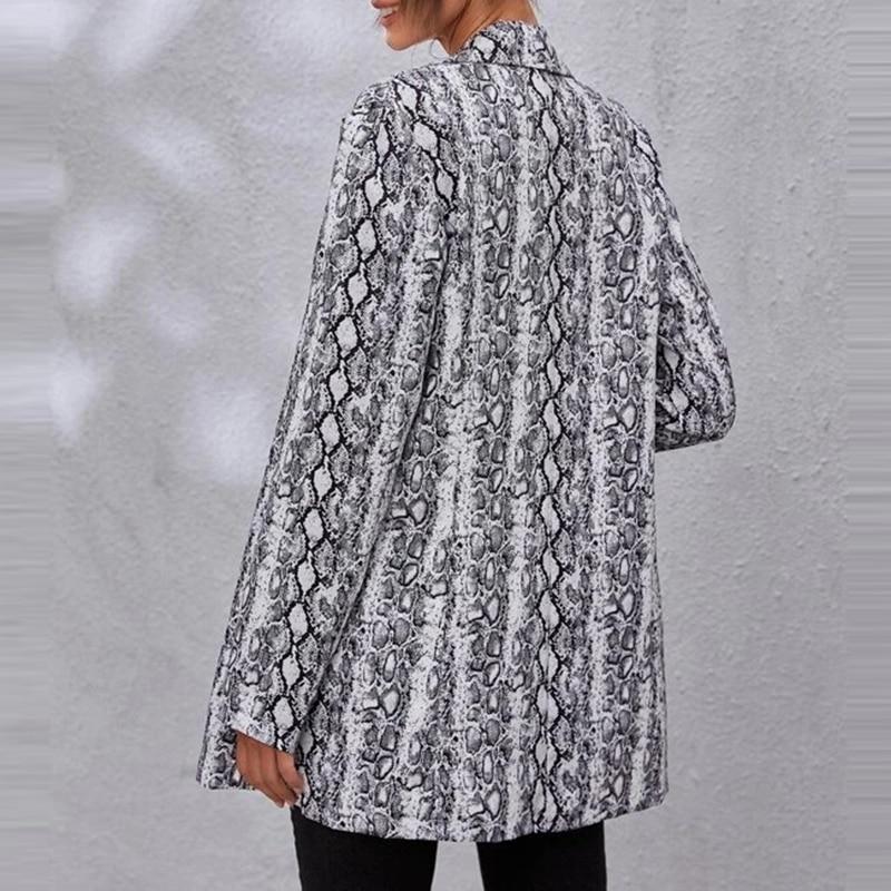Hd8a84dbe84f548e193716ab3581a6b7da Fashion Trend Women Lapel Leopard Print Long Sleeves Suit Jacket Elegant Fall Winter Office Lady Cardigan Coat Casual Streetwear