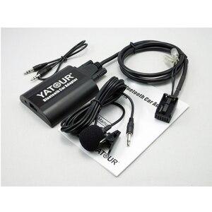 Автомобильный радиоприемник Yatour BTA, Bluetooth, комплект громкой связи для RD4 Peugeot 207 307 308 407 Citroen C2 C3 C4 AUX BT A2DP