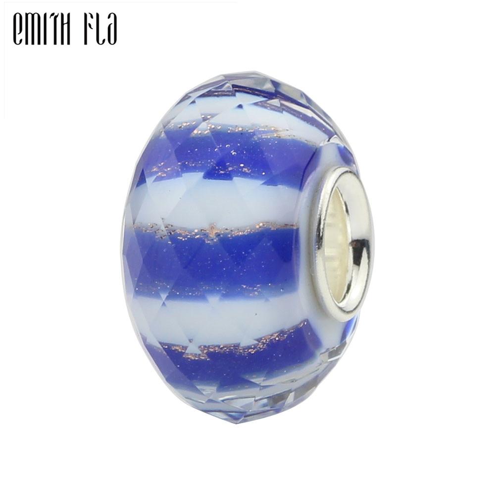 Wholesale Lots Goldsand Lampwork Glass Beads Fit European Charm Bracelet