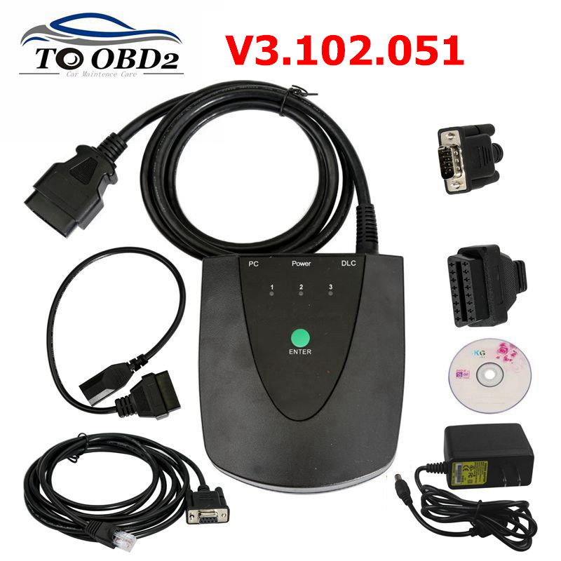 High Quality Latest Software V3.102.051 For Honda HDS HIM Diagnostic Tool With Double Board Free With Z-tek RS232 Multi-Language