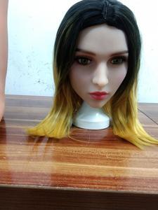 Image 5 - Tpeセックス人形ヘッドリアルなシリコーンセックス人形ヘッドと高さ150センチメートル〜176センチメートルセクシーなリアル男性の愛の人形ヘッド男性のための