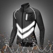 Мужские мотоциклетные куртки wosawe светоотражающая спортивная