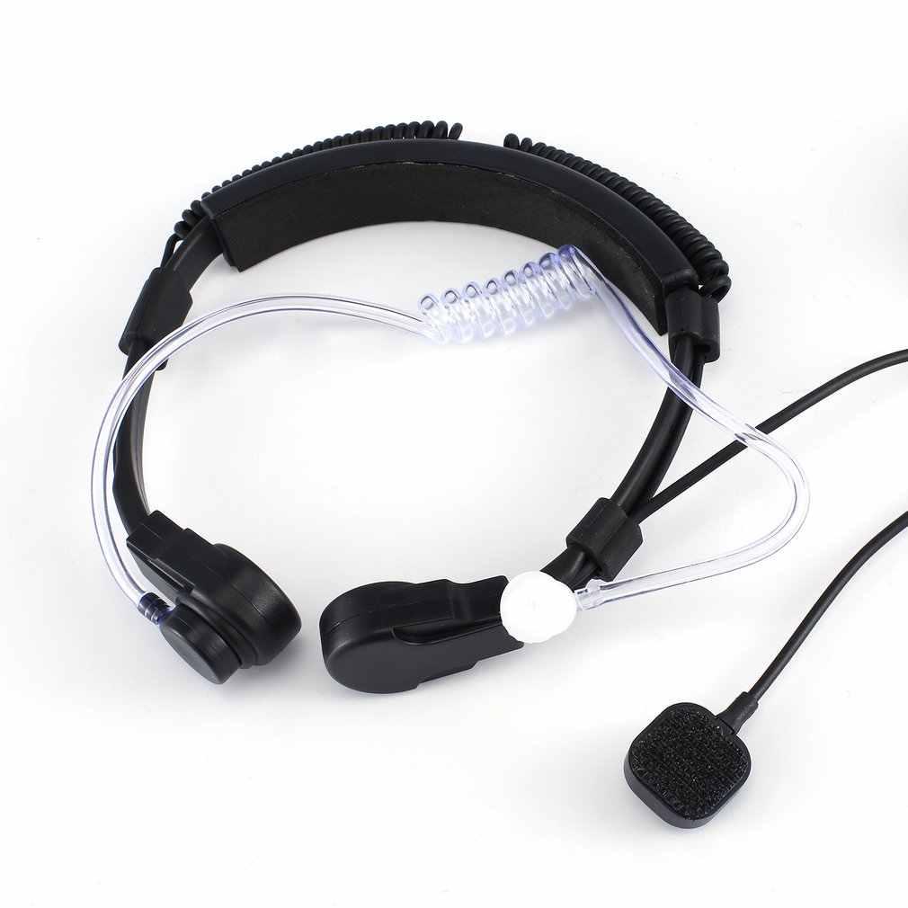Walkie Talkie หูฟังสำหรับ Motorola XIR P8260 8268 6550 P8200 P8208 สีดำสะดวกลวด