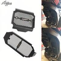 Motorcycle Radiator Guard Oil Cooler Protective Cover For Ducati Scrambler 800 Scrambler800 2015 2016