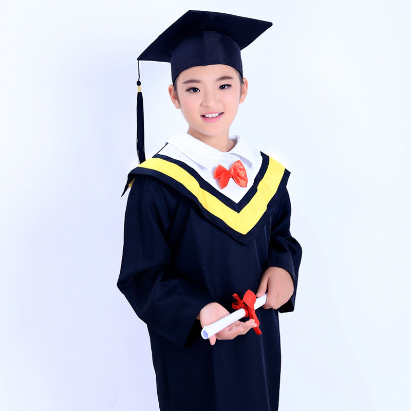 Children Performance Clothing CHILDREN'S Dancing Dress Academi Dress Men And Women Graduation Gown CHILDREN'S Park Academic Dres
