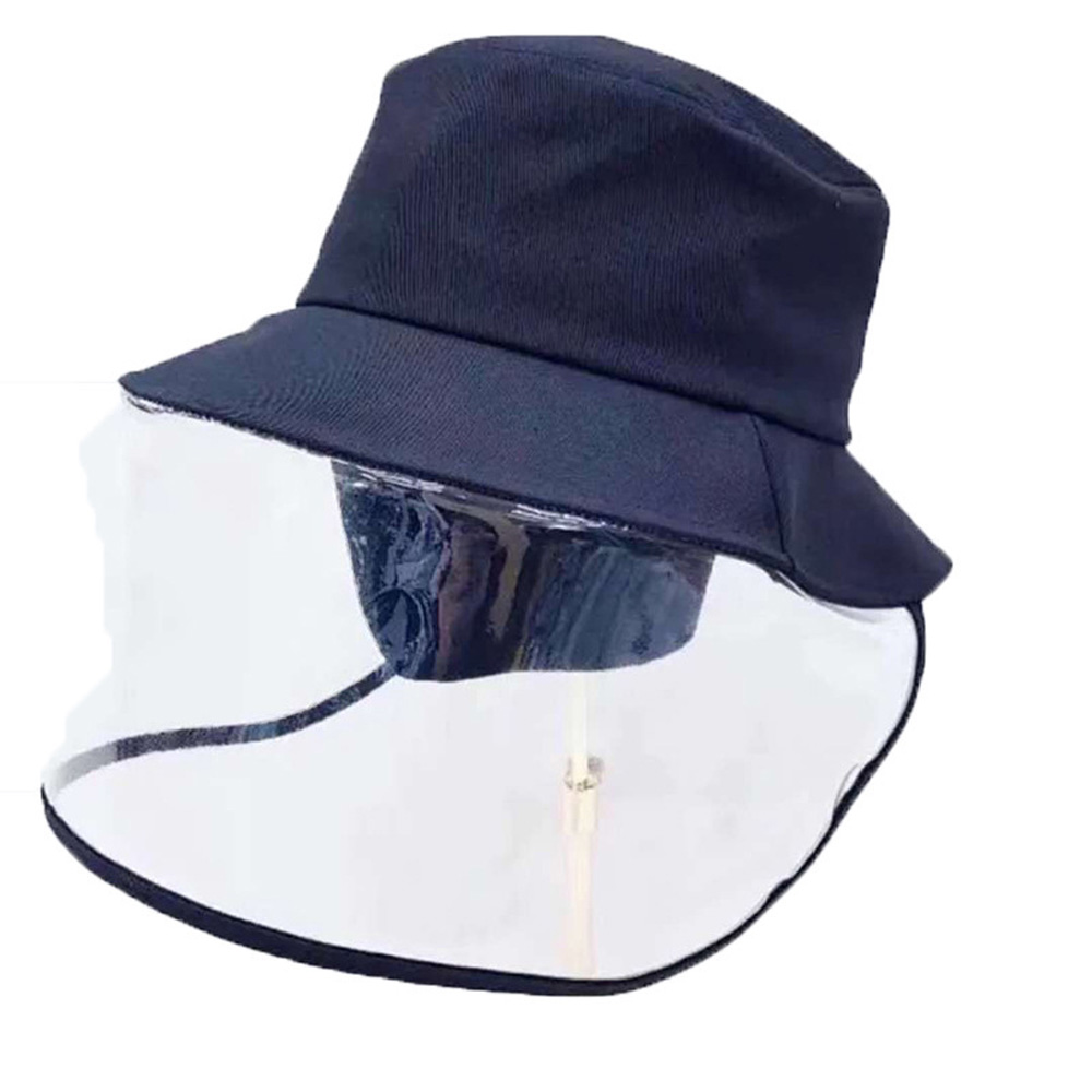 1pc/20pcs Clear Face Cover and Transparent Fisherman Hat to Block the Droplets and Prevent Infection 11