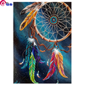 Square Round Drill,5D DIY Diamond Painting Dream Catcher Diamond Embroidery Full Display Cross Stitch,Mosaic Puzzle Picture