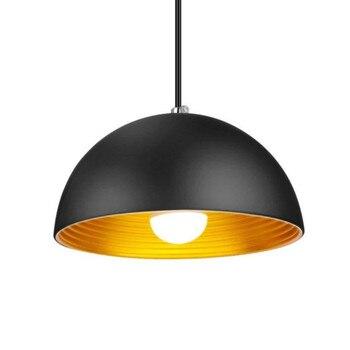 Лофт винтажный подвесной светильник металлический черный белый подвесной светильник Промышленный Ретро Подвеска Кристальный дамашний св...