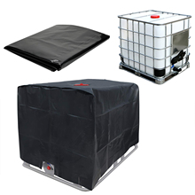 Rainwater Tank 1000 Liters IBC Container Outdoor Cover Waterproof And Dustproof Cover Sunscreen Oxford Cloth 210D