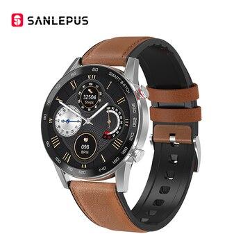 2020 SANLEPUS ECG Smart Watch Bluetooth Call Smartwatch Men Women Sport Fitness Bracelet Clock For Android Apple Xiaomi Huawei 8