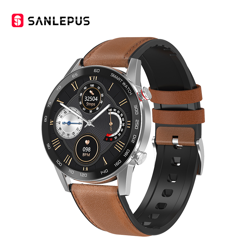 Brown-Leather Strap