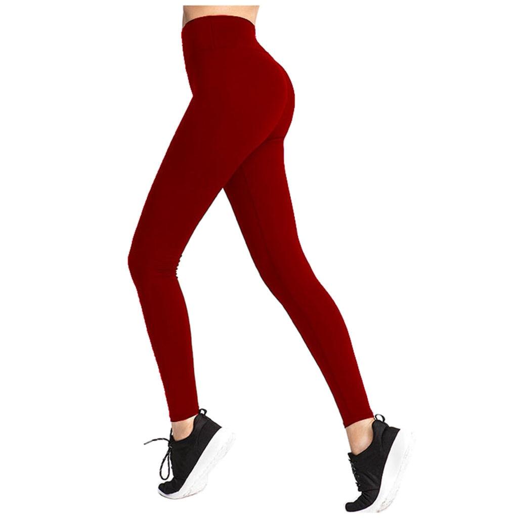Wanita Yoga Celana Elastis Tinggi Elastis Sport Legging Untuk Wanita Legging Olahraga Femme Kebugaran Et Berjalan Leggins Deporte Mujer 3 Yoga Pants Aliexpress