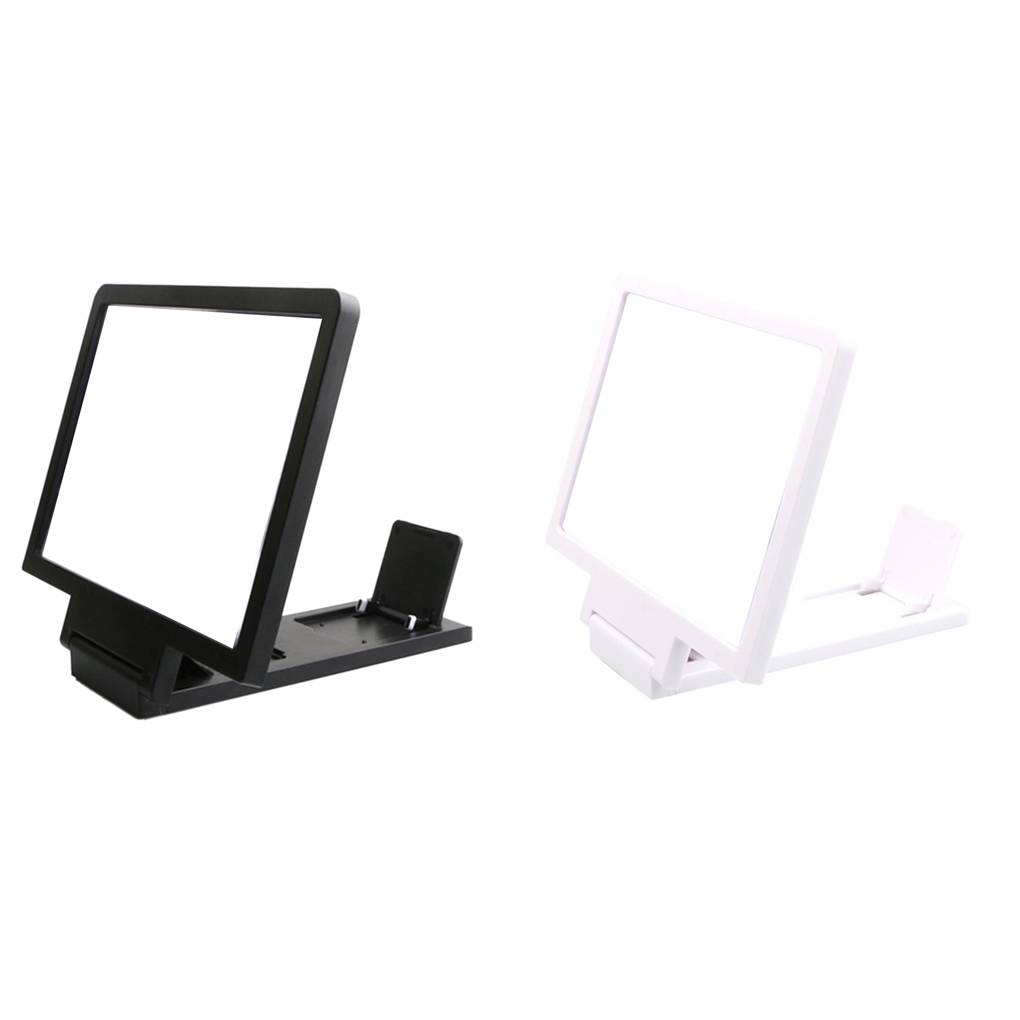 Phone Holder Screen Magnifier Cellphone Projector Enlarged Amplifier 3D HD Movie Video Stand Mobile Bracket Holder image