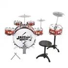 Kinderen Drum Musical Toy Instruments met Cymbals Kruk Play Game Muziek Rente Ontwikkeling Voor Kids Kerst Verjaardagscadeau - 2