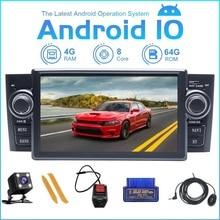 ZLTOOPAI Android 10 Fiat Grande Punto Linea 2007 2012 otomobil radyosu Stereo GPS navigasyon araba akıllı multimedya oynatıcı