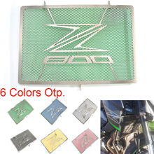 For Kawasaki Z800 2013-2016 Radiator Guard Protector Grille Grill Cover For Kawasaki Z 800 2013 2014 2015 2016 Stainless Steel