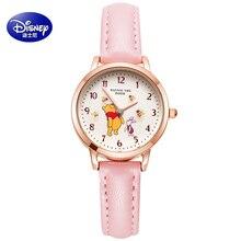 Watches The-Pooh Winnie Girls Kids Disney Clock Gift Waterproof Reloj Child Fashion Bee