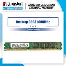 Kingston-memoria RAM Original usada para escritorio, ddr3, 4GB, PC3-12800, DDR 3, 1600MHZ, CL11