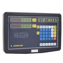 2 оси dro цифровой измерительный прибор с устройством считывания
