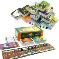 hot Dixit 1 2 3 4 5 6 7 8 9 board games for kids tell story English & Russian 12 players total 756 playing cards family game