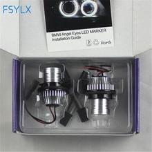 цены на 5W aluminum LED angel eyes bulb for  E87 E39 E60 E61 E63 E64 E65 E66 E53 1set FREE SHIPPING !  в интернет-магазинах