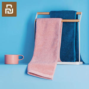Image 3 - Youpin Towel 100% Cotton Strong Water Absorption Bath Soft and Comfortable Beach Face Hand Towels 32 X 70cm