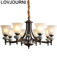 Lâmpada de suspensão para sala de jantar lampen industrial decoração luminária suspendu lampara colgante deco maison hanglamp|Luzes de pendentes| |  -
