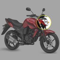 헤드 라이트 하우징 전구 어셈블리 Yamaha FZ-16 1998 150 오토바이 부품