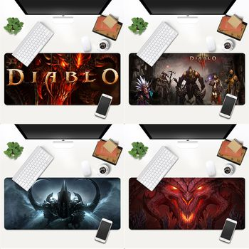 MaiYaCa Your Own Mats diablo Beautiful Anime Mouse Mat Gaming Mouse Pad Large Deak Mat 700x300mm for overwatch/cs go