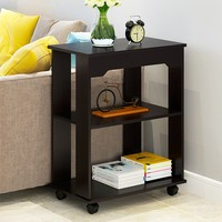 3 Tier Simple Modern Bedstand Home Furniture Night Table Living Room Bedside Cabinet Bedroom Nightstand Filing Storage Cabinet#3