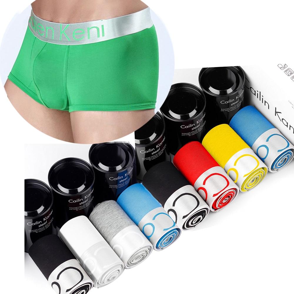 10Pcs/lot Boxershorts Mens Underwear Boxers Hombre Bokserki Cotton Soft Men's Boxer Breathable Ropa Underwear