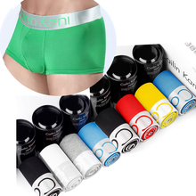 10Pcs/lot Boxershorts Mens Underwear Boxers Hombre Bokserki Cotton Soft Men's