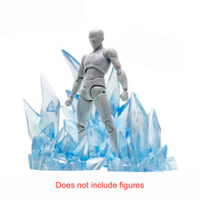 Ijs Vuur Speciale Effecten Decoratie Voor Effect Shf Saint Seiya Mijn Hero Academia Diy Battle Scene Model Action & Toy cijfers