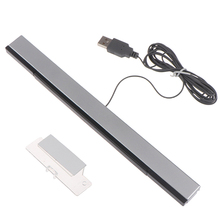 Game Accessoires Wii Sensor Bar Wired Ontvangers Ir Signaal Ray Usb Plug Vervanging Voor Nitendo Wifi Kabel Receiverremote