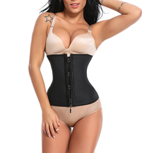 Miss Moly Women Waist Trainer Strap Corset Top With Zipper 3 Hook Tummy Control Full Body Shaper Cincher Slimming Trimmer