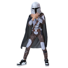 Cloak Cape Cosplay-Costume Mandalorian Halloween Clothing Outfit Jumpsuit Carnival-Suit