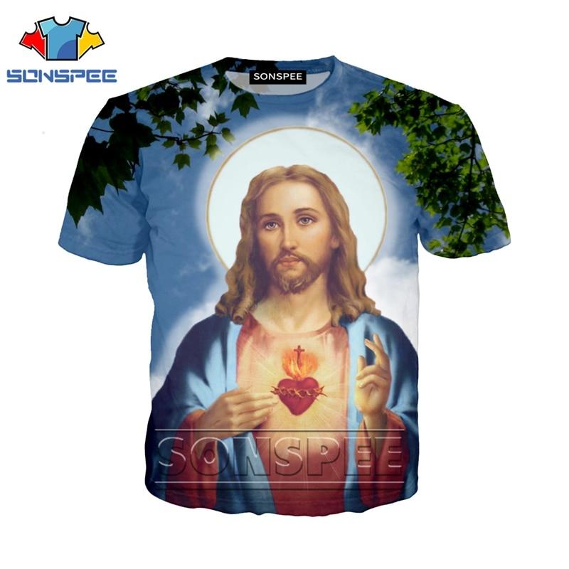 Anime 3d Print Casual Punk Gym T Shirt Streetwear Men Jesus Beach Women Fashion T-shirt Harajuku Kids Shirts Homme Tshirt A149