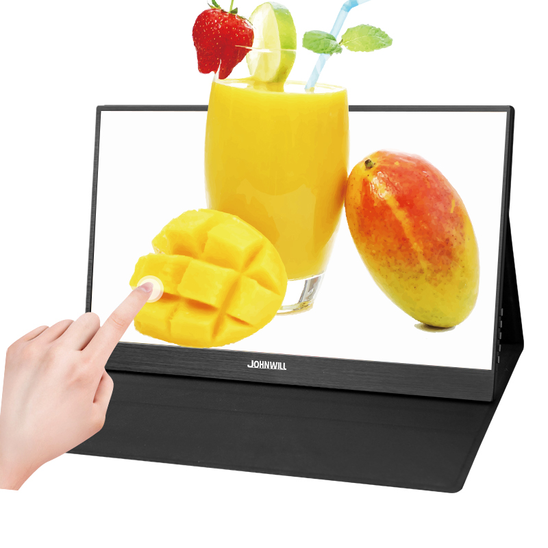 15.6 Polegada Display Tela De Toque HDMI 1080P Portátil para Laptop Samsung Telefone DEX Interruptor XBOX PS4 Tipo-C USB-C LED Monitor de Jogos