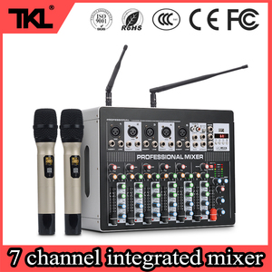 TKL 7 channel audio DJ mixer 6