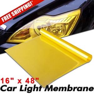 120x40cm Gold Yellow Smoke Hea