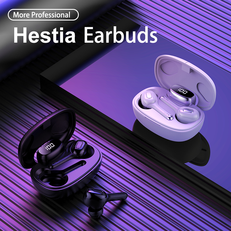 2019 Newest T9S <font><b>TWS</b></font> <font><b>Earbuds</b></font> Wireless Stereo Sound In-ear Earphones BT 5.0 Headphones Headset with portable Mic and Charging Box image