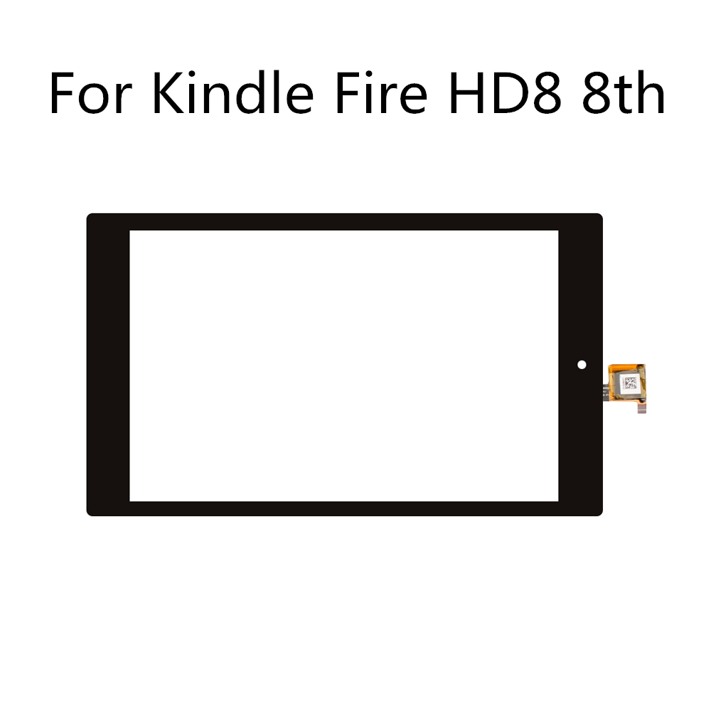 For Kindle Fire HD8 8th Gen L5S83A Touch Screen Digitizer Replacement Digitizer Panel Front Glass Lens