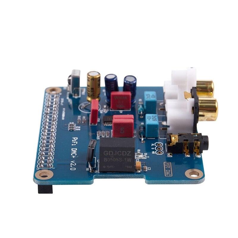 PIFI Digi DAC + HIFI DAC de Audio Módulo de tarjeta de sonido I2S para Raspberry pi 2 Modelo B, modelo B + Digital tarjeta de Audio marcar producto V2.0 Interfaz de botella de coque, boquilla Manual para pistola de plástico, cabezal de riego por pulverización opcional, boquilla de 360 grados, interfaz de 26mm, 1 Uds.