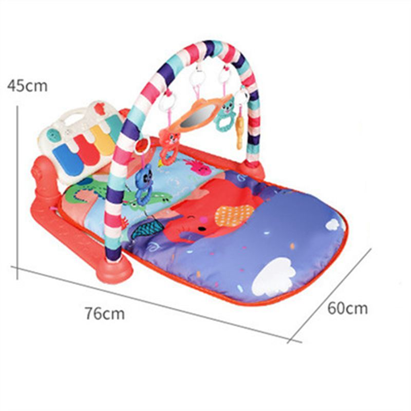 Hd8ad2f9325d649b1948d99b266845423z Play Mat Baby Carpet Music Puzzle Mat With Piano Keyboard Educational Rack Toys Infant Fitness Crawling Mat Gift For Kids Gym