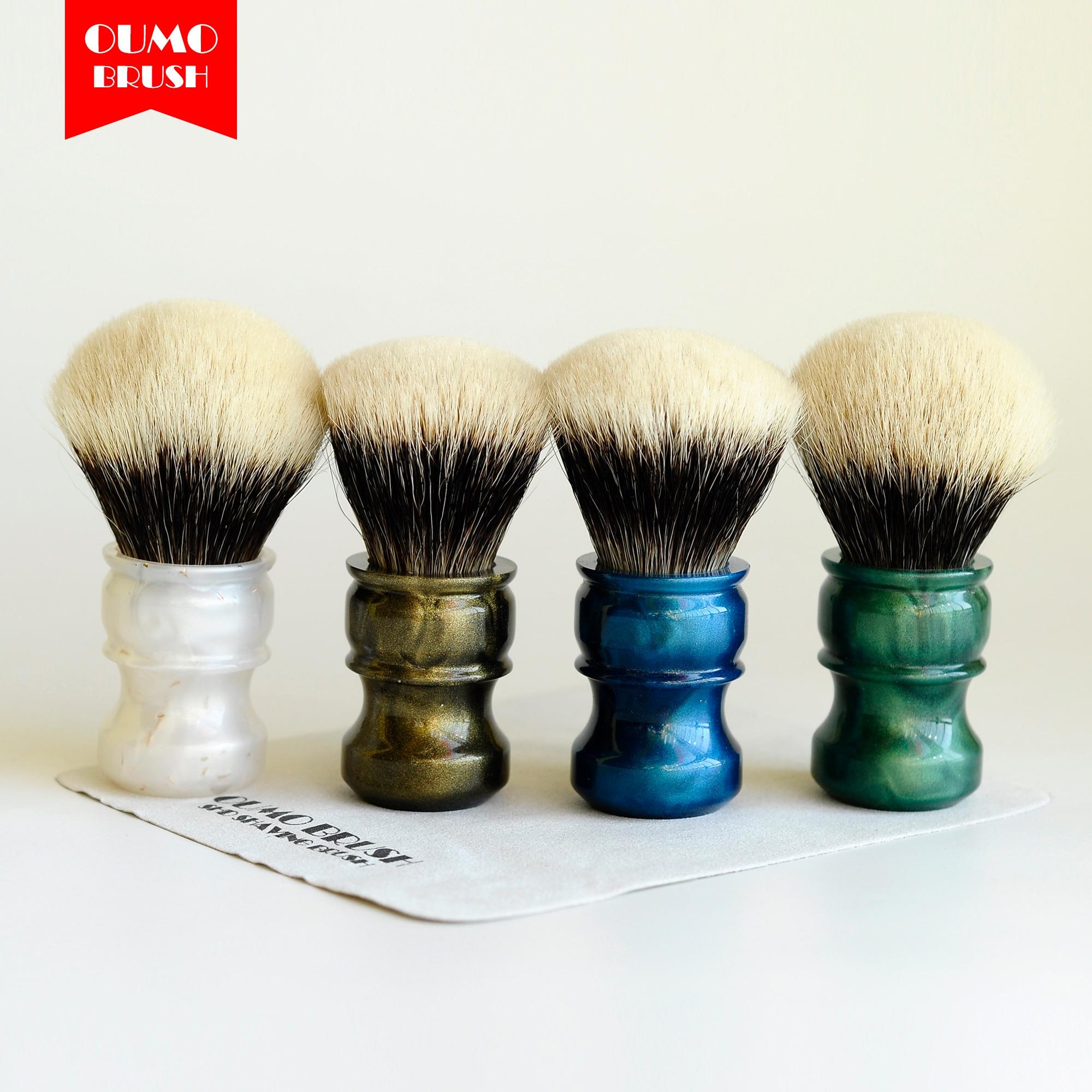 OUMO BRUSH-Fans Exclusive Limit Bulb Handmaster Finest Badger Hair Knots Shaving Brush
