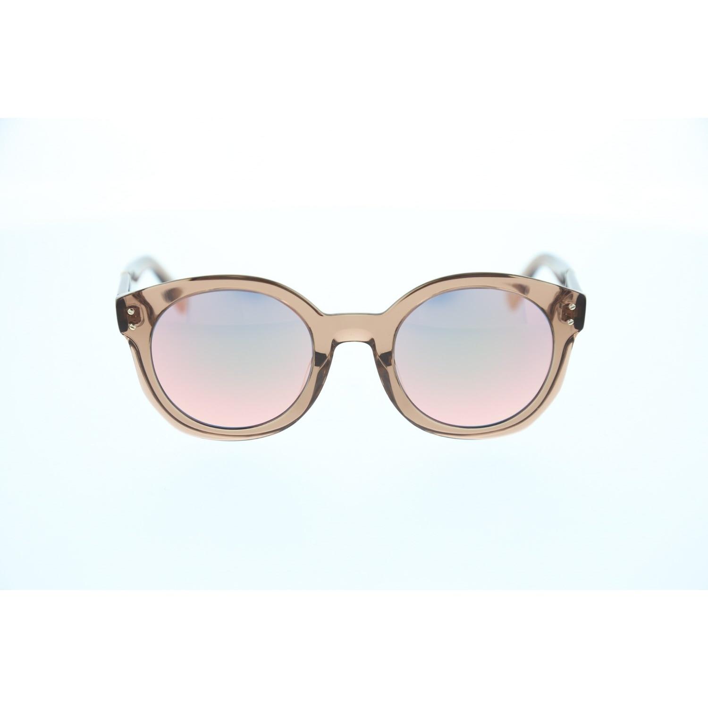 Women's sunglasses dl 0252 45z bone orange organic oval aval 52-24-140 diesel